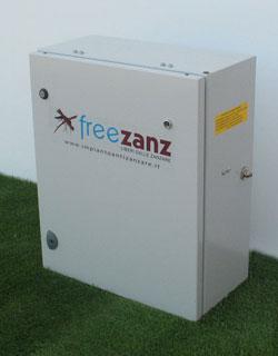 Impianto antizanzare fai da te dispositivo arresto - Antizanzare casa ...