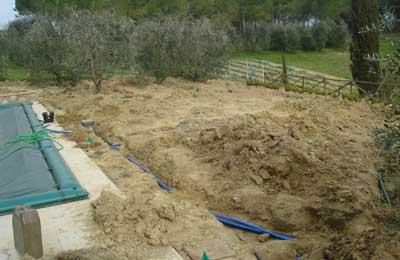 materiale per impianto di irrigazione raccordi tubi