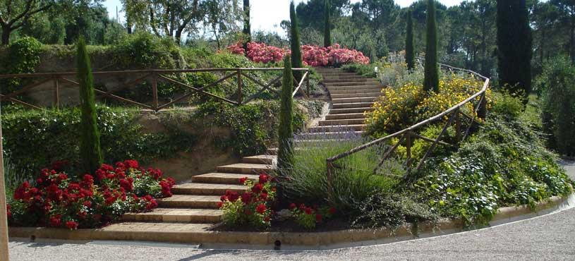 Progettazione e creazione di giardini a pisa lucca livorno - Giardini privati progetti ...