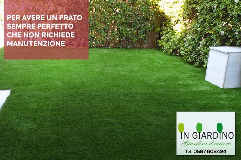 Top Prato sintetico per giardino posa professionale a Forte dei Marmi  LG82