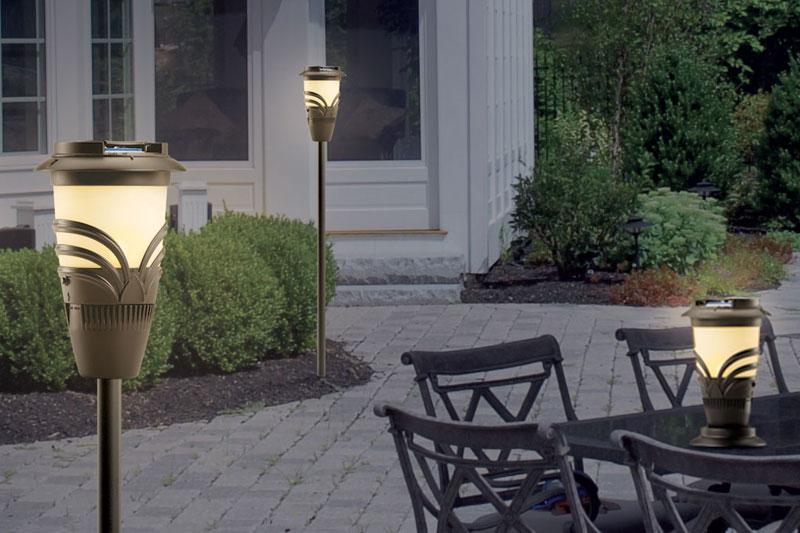 Thermacell torcia repellente per zanzare da giardino - Contro le zanzare in giardino ...